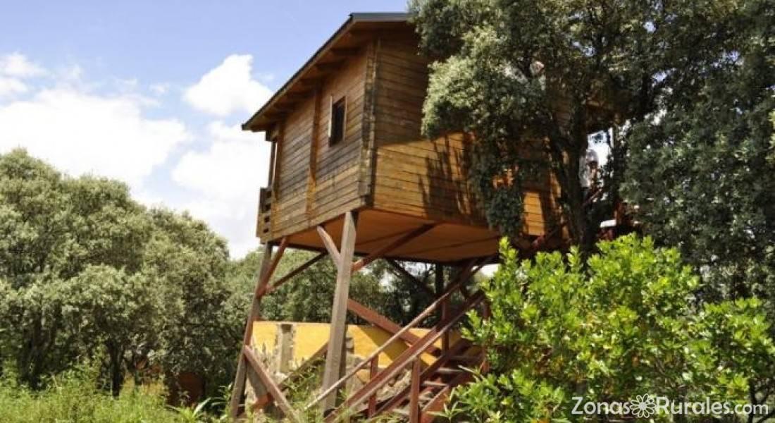 Ecolodge caba as caba eros casa rural en retuerta del bullaque ciudad real - Casa rural cabaneros ...