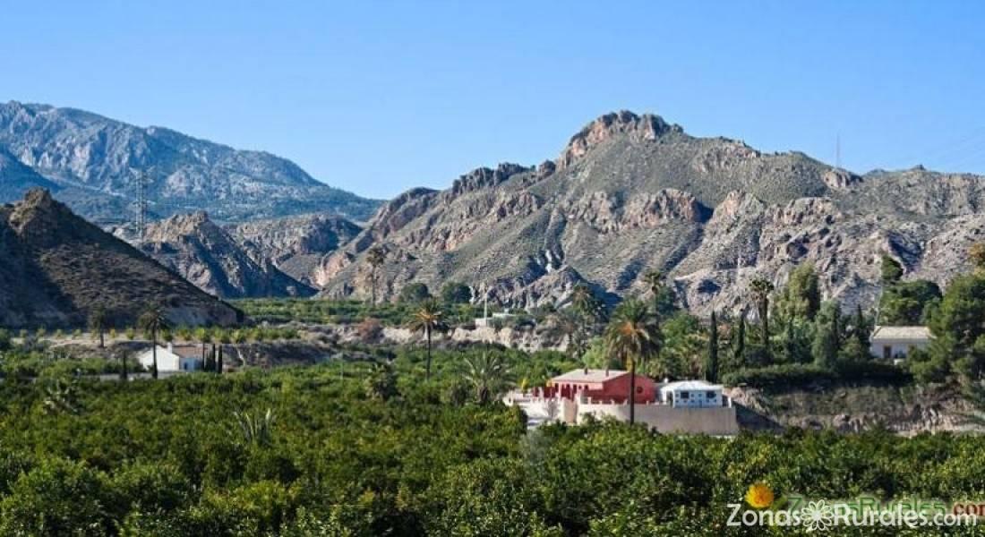 Casa rural la joya del valle de ricote casa rural en villanueva del r o segura murcia - Casa rural valle de ricote ...