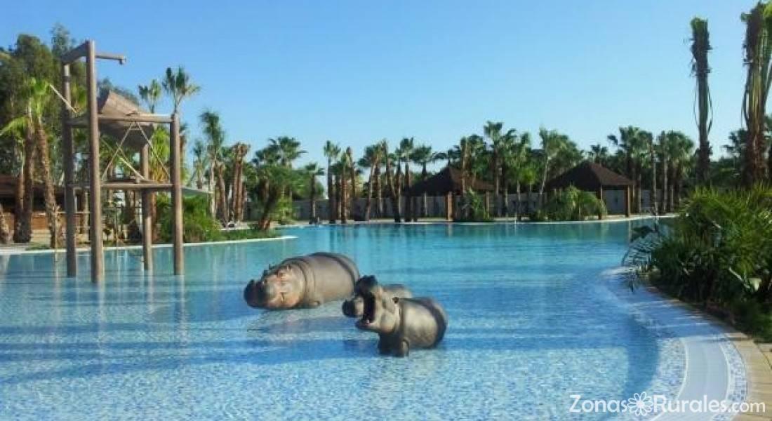 Marjal costa blanca eco camping resort camping y for Camping con piscina climatizada en comunidad valenciana
