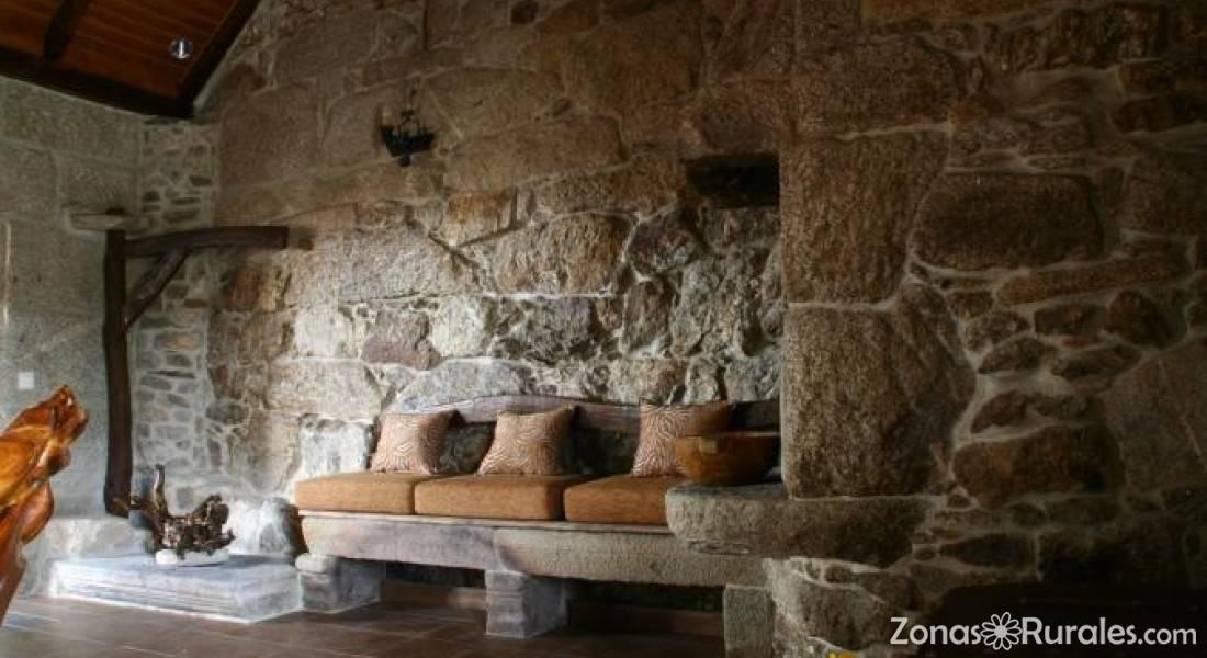 Casa de magina casa rural en fornelos de montes pontevedra - Casas de piedra galicia ...