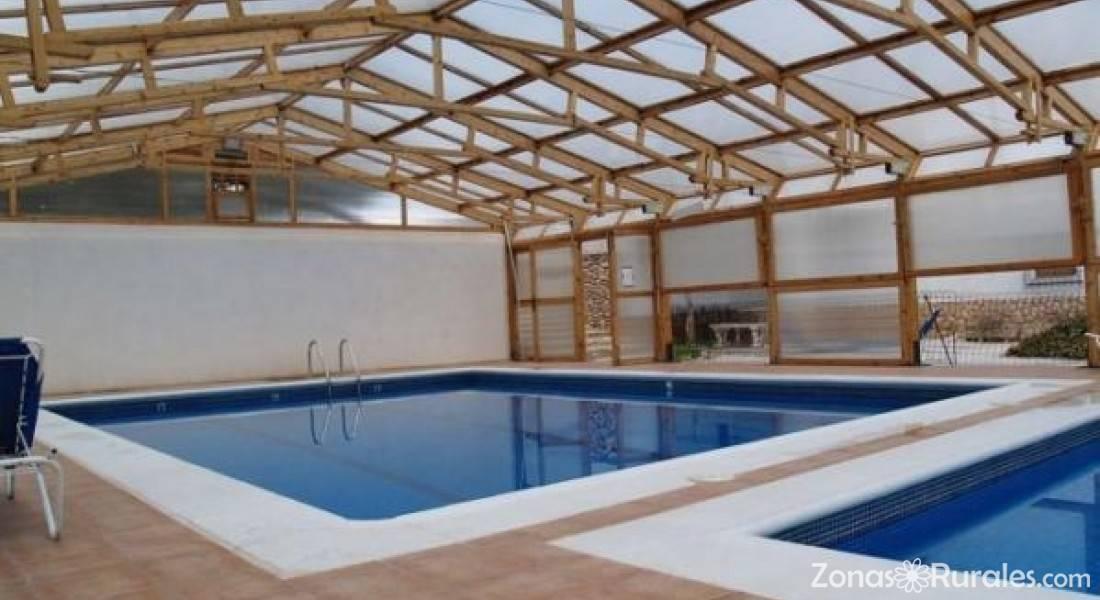 Casas rurales huerta pinada i y huerta pinada ii casa rural en pliego murcia - Casa rural con piscina cubierta ...