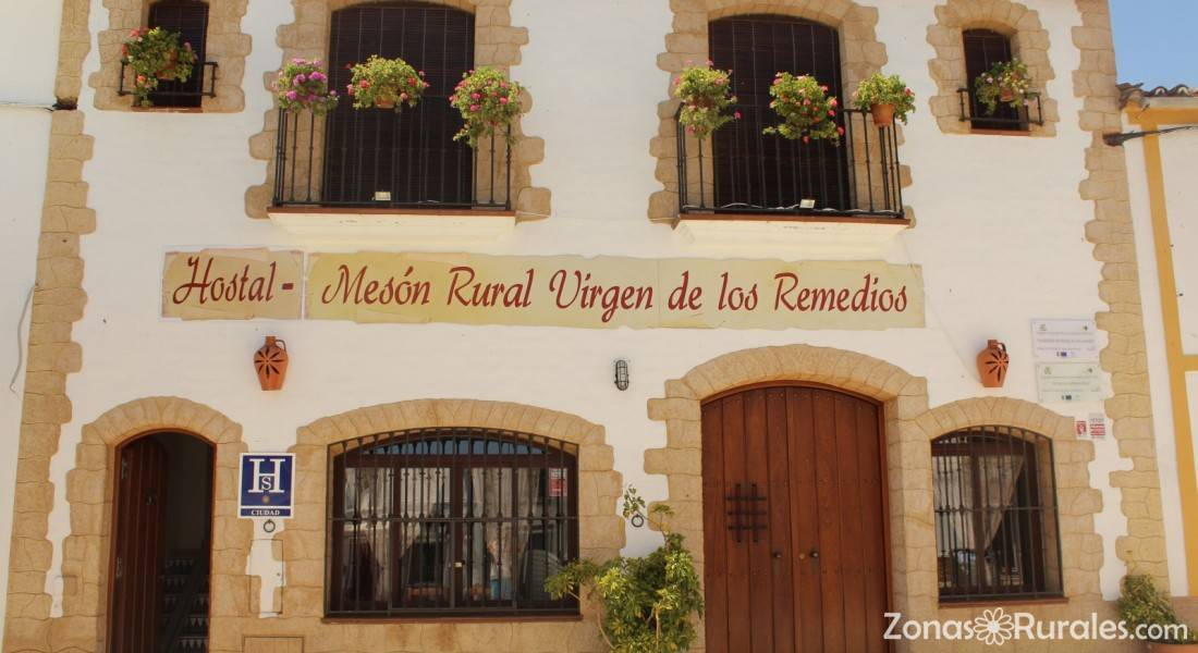 Hostal virgen de los remedios hostal rural en for Alquiler de casas en los remedios sevilla