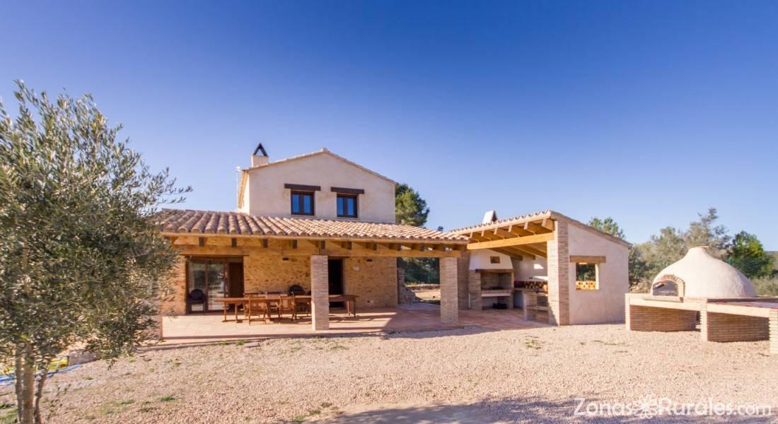 Mas berag casa rural en el perell l ametlla de mar tarragona - Casa rural ametlla de mar ...