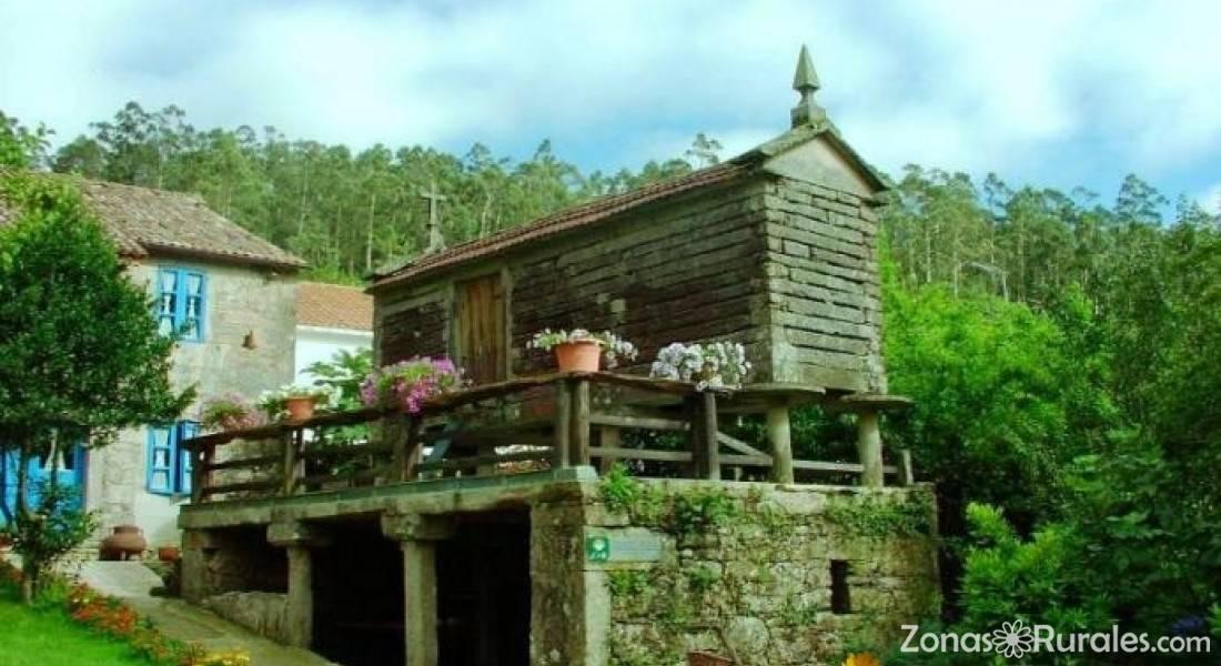 Casa rural casa perfeuto mar a casa rural en cabanamoura outes a coru a - Casa rural casamira ...