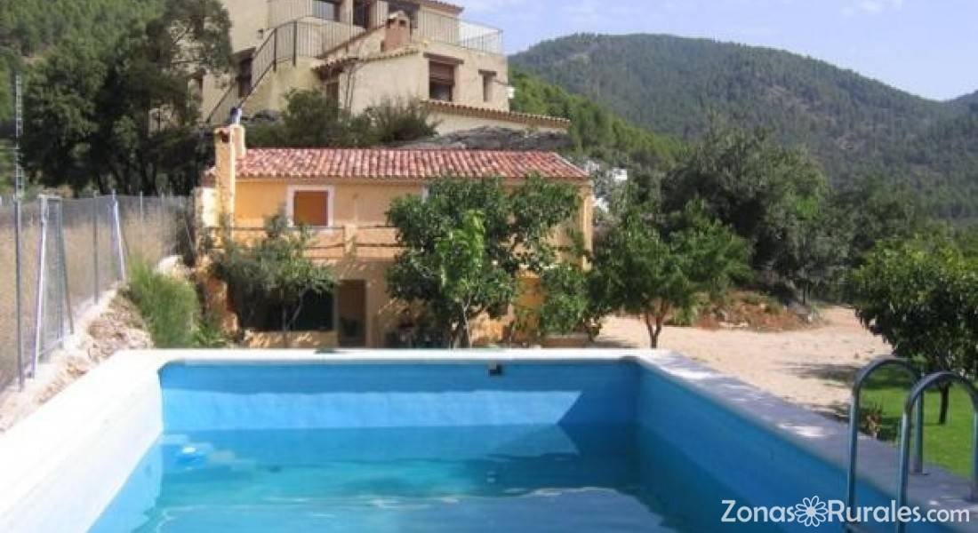 Casas rurales la molata casa rural en arguellite yeste albacete - Casa rural yeste ...