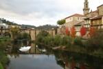 El río Avia a su paso por el municipio