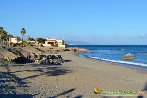La playa de Mójacar