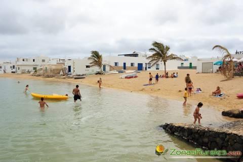 La Graciosa, una casa rural cerca de la isla española de los 2 pueblos
