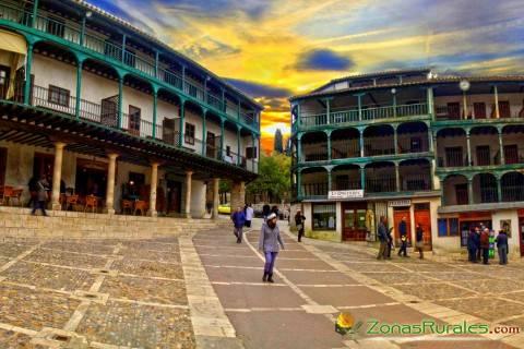 Chinchón, un destino para alquilar una casa rural cerca de Madrid