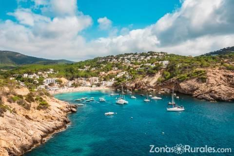 La naturaleza de Ibiza es espectacular