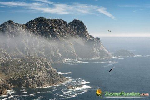 Playa de Rodas y unas magníficas Islas Cíes a las puertas del Atlántico