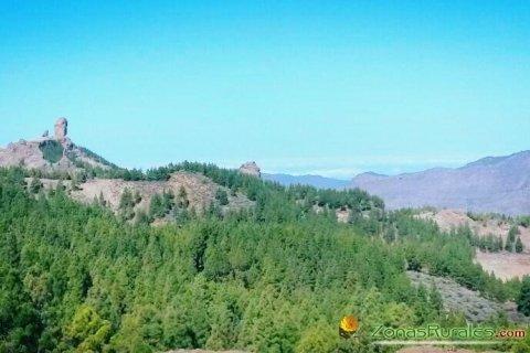 Vista del Roque Nublo de Gran Canaria