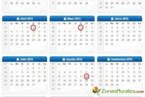 Calendario Laboral 2015