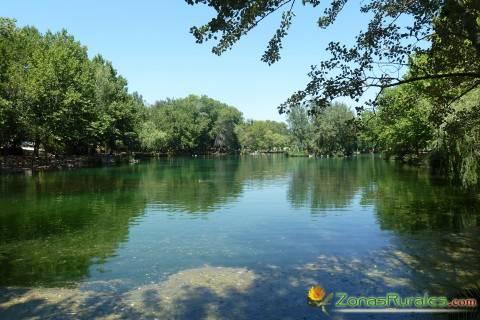 Una parte del lago