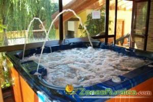 Casas rurales con spa, turismo, salud y relax.