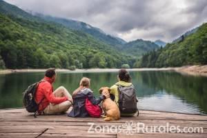 El turismo rural es muy beneficioso para los más peques de la casa