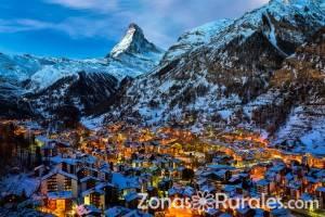 La nieve y el turismo rural: excelente combinación