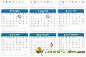 Calendario laboral 2015: entérate de los ocho días festivos y aprovéchalos