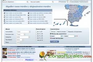 Una web intuitiva y visual para la nueva Zonas Rurales